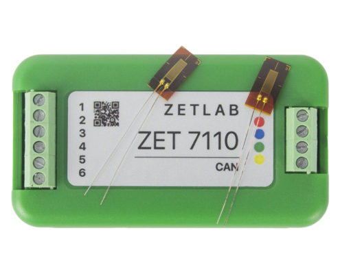 ZET 7110 Digital Strain Gauge Sensor - top view