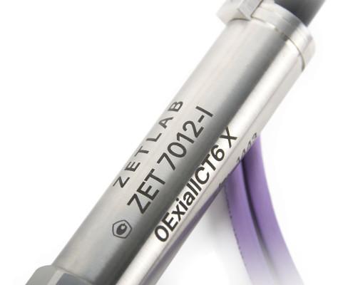 ZET 7012-I VER.2 digital gauge pressure - labelling