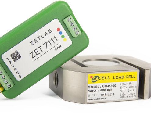 ZET 7111 Digital Strain Gauge - system components