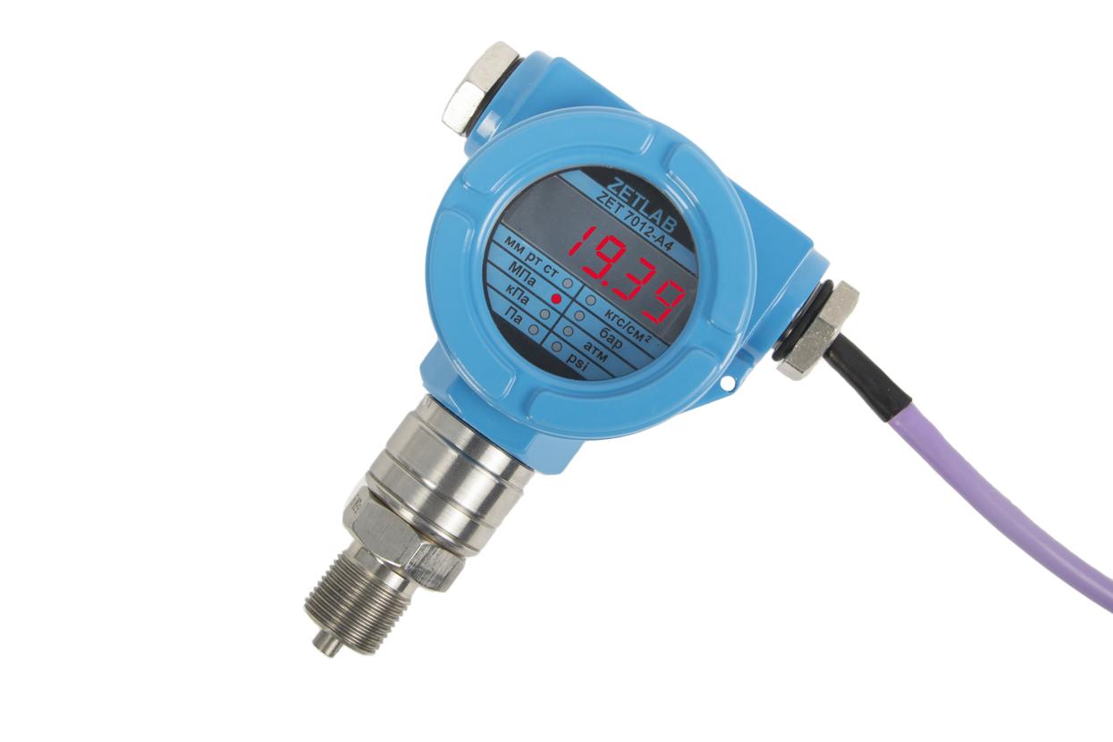 Датчик давления ZET 7X12 с индикатором