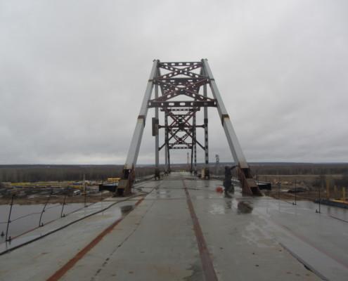 Практическое применение ZET 7X10-DS. Общий вид моста