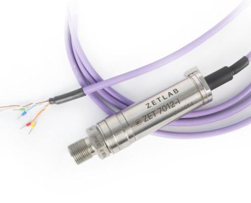 Цифровой датчик избыточного давления ZET 7012-I открытая мебрана