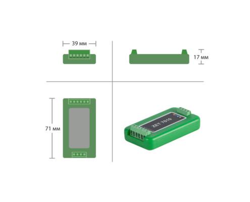 ZET 7010 Strain gauge sensor - dimensions