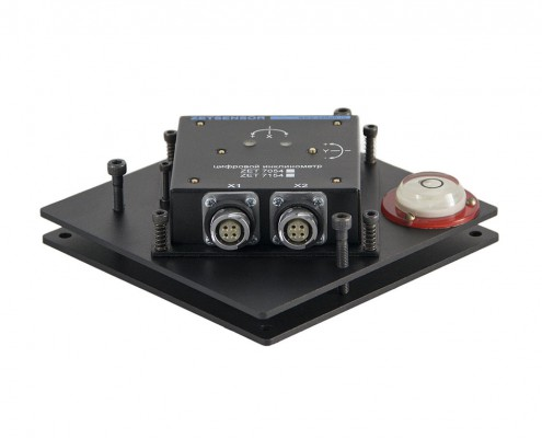 ZET 7054 digital inclinometer - mounting plate