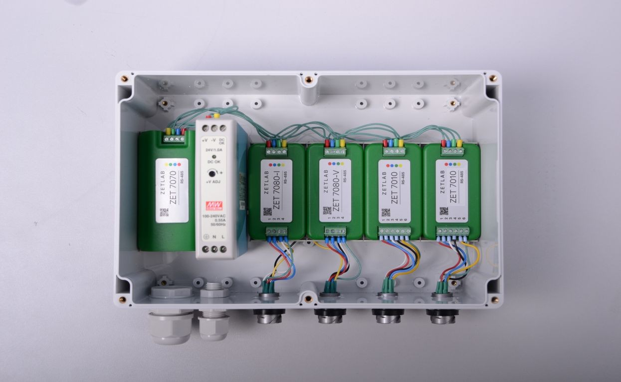 Digital Strain Gauge Zet 7010 Relative Deformation Measurements Wiring Sensor Assembly