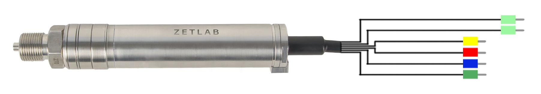 Обозначение проводов датчиков давления RS485