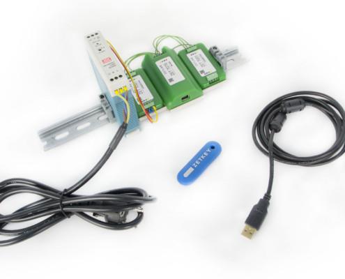 Базовая комплектация ZET 7070 при поставке с цифровыми датчиками в лабораторном исполнении