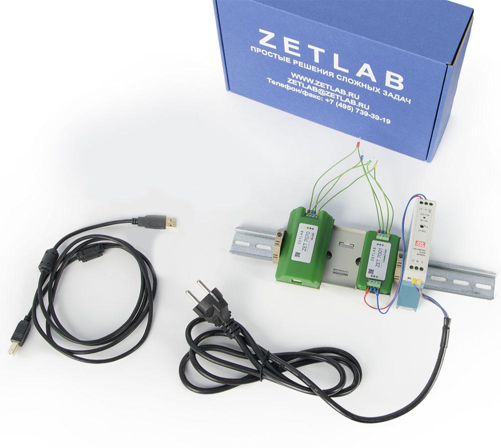 Базовая комплектация цифрового датчика ZET 7070