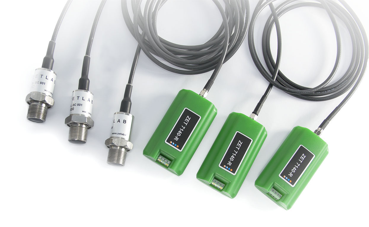 Digital Cavitation Sensor Zet 7140 R Cavitation Processes