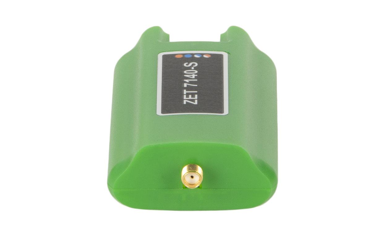 ZET 7140-S. Разъём SMA для подключения датчиков