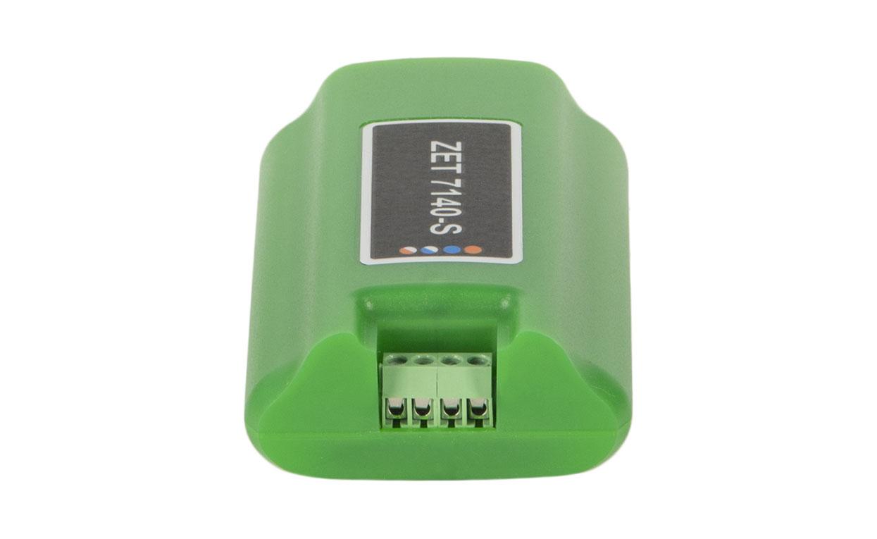 ZET 7140-S. Разъем для подключения к измерительной сети