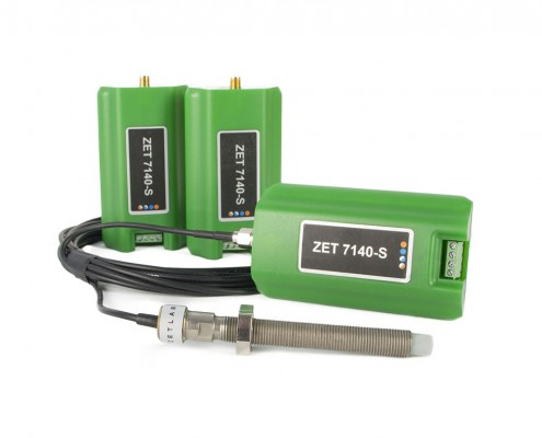 ZET 7140-S Digital Eddy Current Displacement Sensor - system components