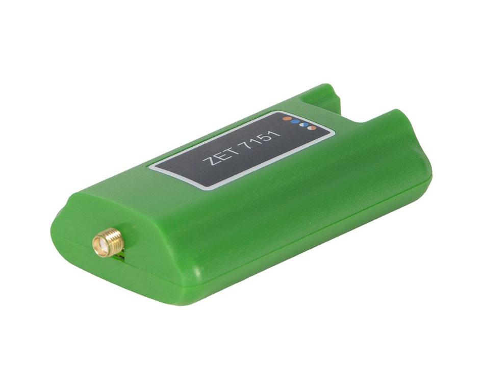 ZET 7151 цифровой акселерометр. Сторона подключения первичного преобразователя