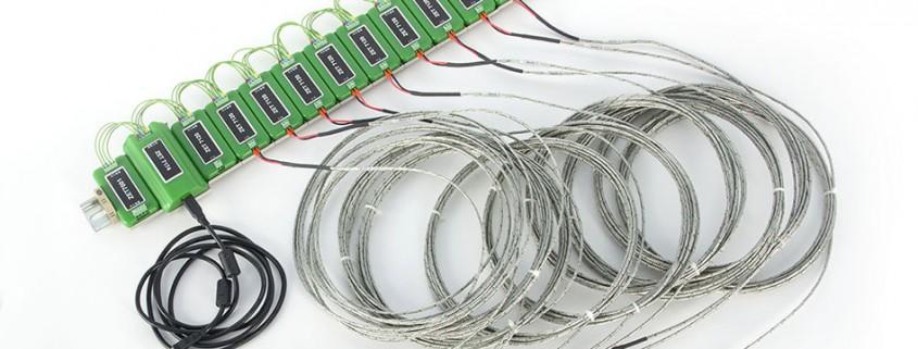 Измерительная сеть на базе ZET 7120, Проектирования и монтаж