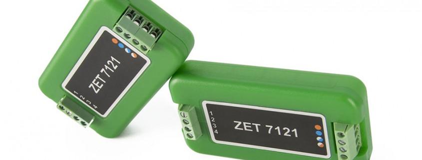 Цифровой датчик температуры ZET 7121, измерение температуры