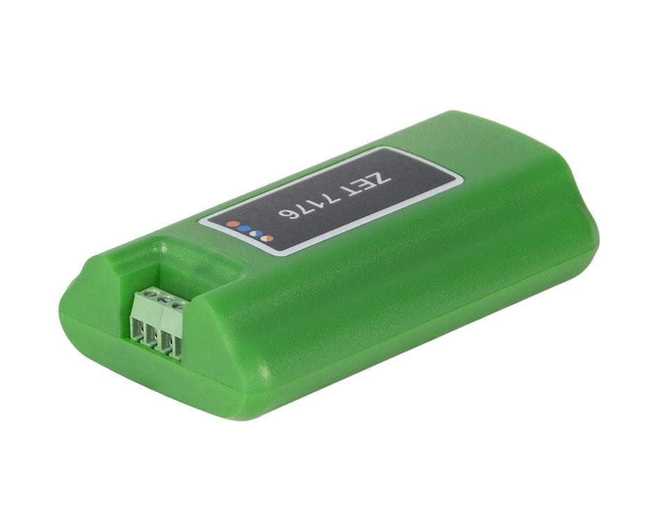ZET 7176 Преобразователь интерфейса. Сторона подключения к измерительной сети