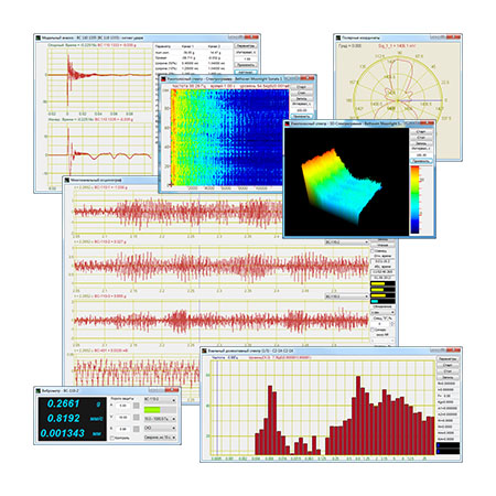 ZETLAB ANALIZ — ПО анализаторов спектра