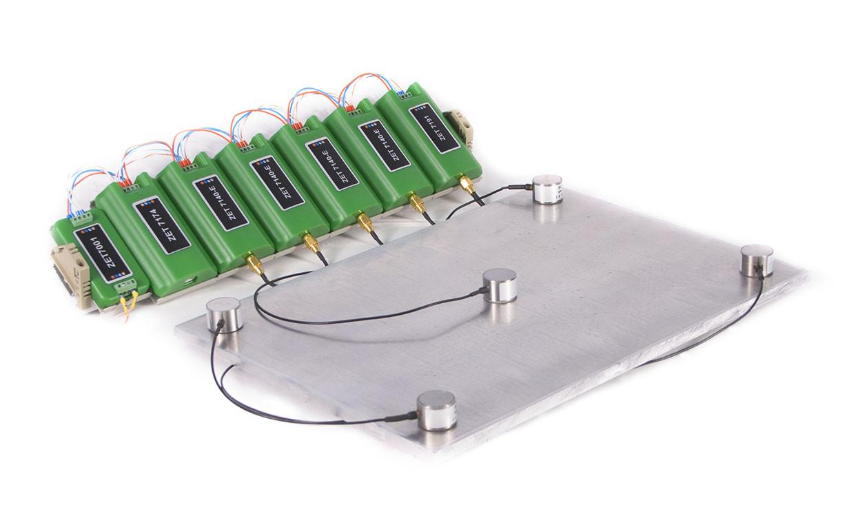Стенд имитации сигналов АЭ с помощью высокочастотных генераторов ZET 7191