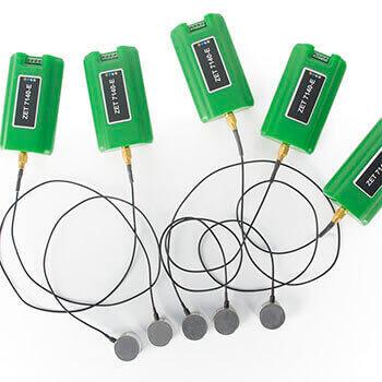 Цифровой датчик акустической эмиссии ZET 7140-E