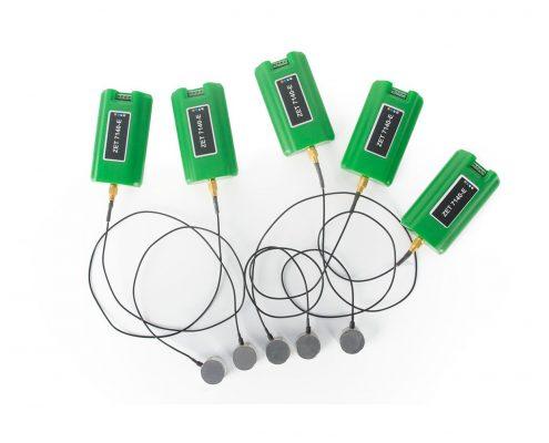 Цифровые датчики акустической эмиссии ZET 7140-E