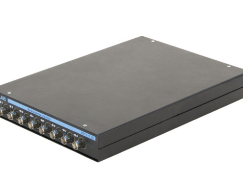 ZET 017-U8 FFT SPECTRUM ANALYZER - side view