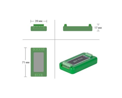 ZET 7111-L Digital LVDT sensor - dimensions