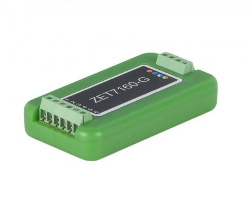 ШИМ контроллер ZET 7160-G. Сторона подключения управляемых устройств