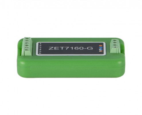 ZET 7160-G Digital Generator - side view