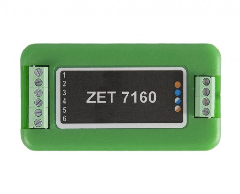 ZET 7160 Digital Port - top view
