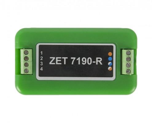 ZET 7190-R PID controller - top view
