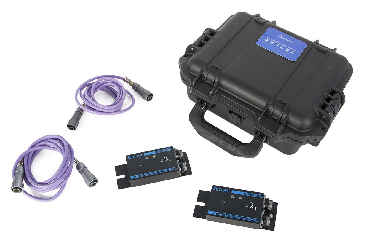 Мобильная система виброконтроля гидроагрегатов. Примерный вариант исполнения