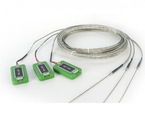 Цифровой датчик температуры ZET 7120 в комплекте с термопарой