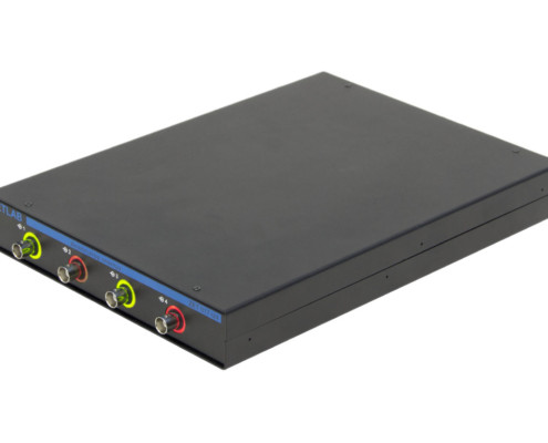 Анализатор спектра ZET 017-U4 вид сбоку, индикация