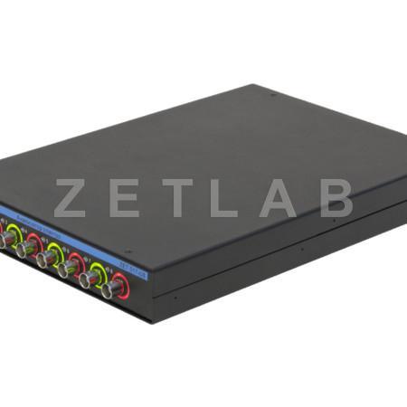 Анализатор спектра ZET 017-U8 вид сбоку, индикация