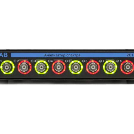 Анализатор спектра ZET 017-U8 вид спереди, индикация