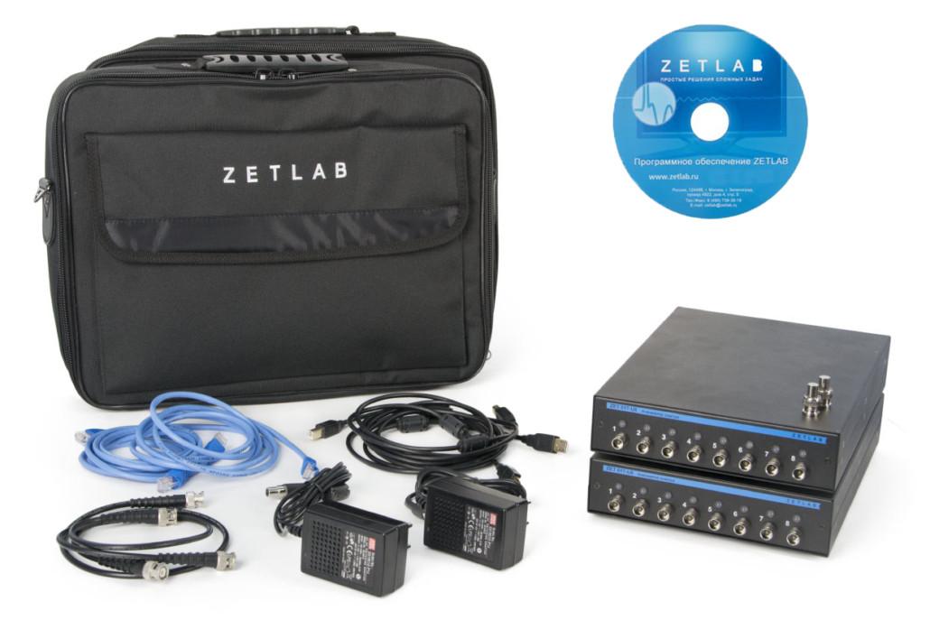 Базовая комплектация анализатора спектра Zet 017 U16