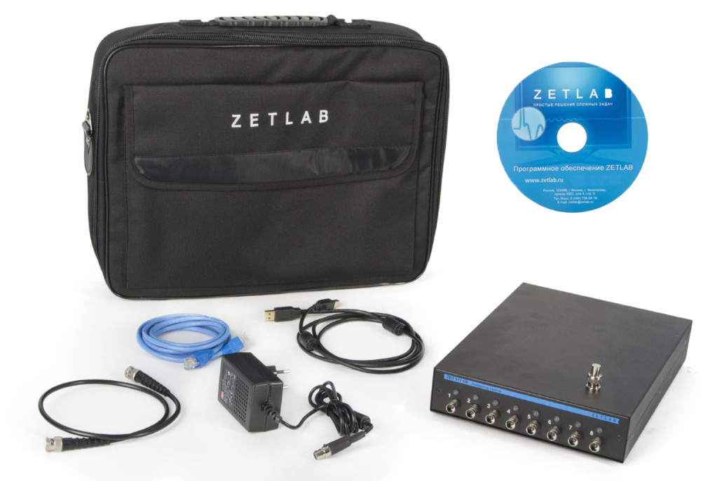 Базовая комплектация анализатора спектра Zet 017 U8