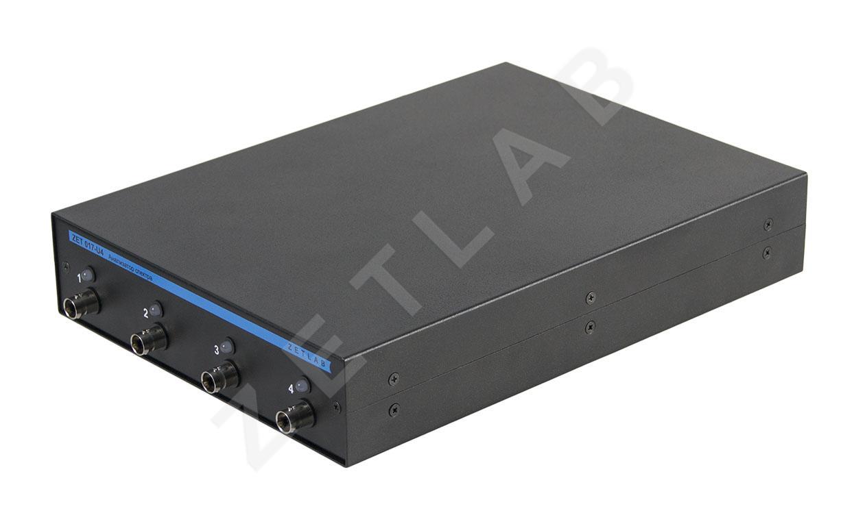 Анализатор спектра ZET 017-U4. Промышленное исполнение