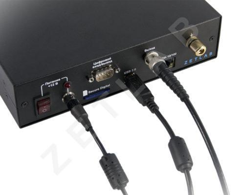 Анализатор спектра ZET 017-U4. Подключение по USB (промышленное исполнение)