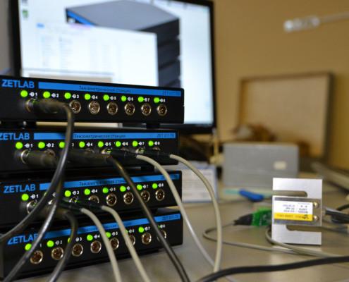 Тензометрическая станция ZET 017-T32