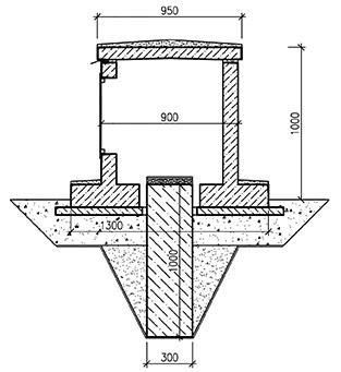 Пример технологического решения для установки сейсморегистратора на улице