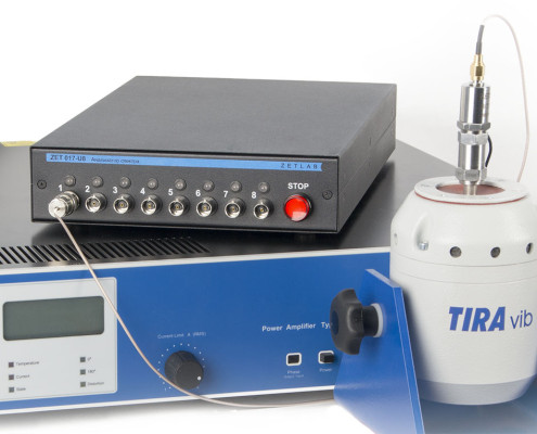 Spectral density as a vibration test parameter, Integrated VCS protection response speed