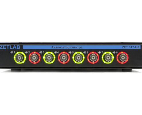 ZET 017-U8 Analizador de espectro frente