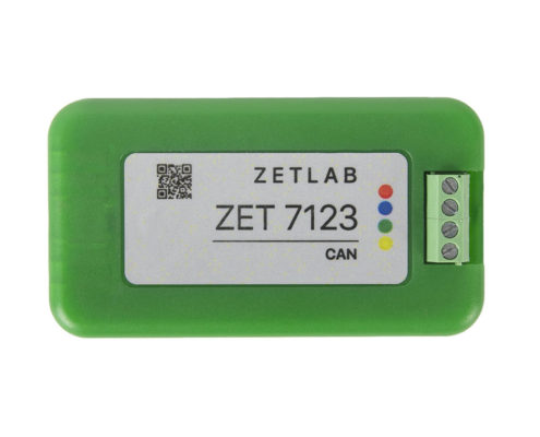 ZET 7123 digital meteorological sensor - top view