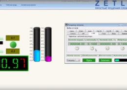 Создание простого проекта в SCADA ZETVIEW