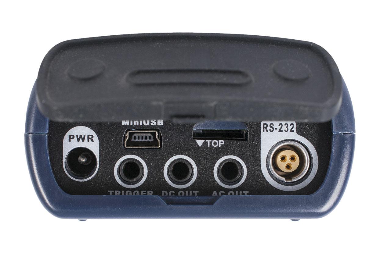 Нижняя панель интегрирующего шумомера BSWA 308