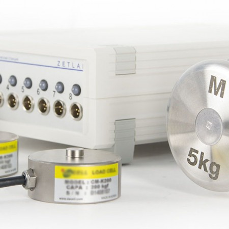 Тензометрические станции со встроенным генератором для питания датчиков