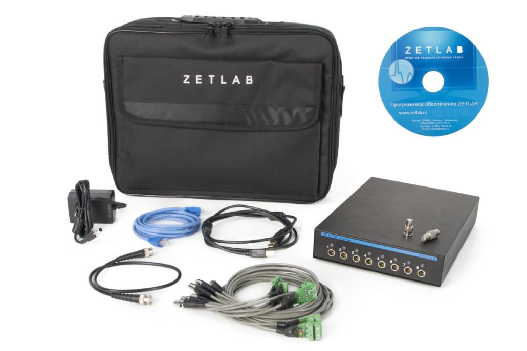 Basic delivery scope of Measurement module for strain gauges (data acquisition module (DAQ) ZET 017-T8