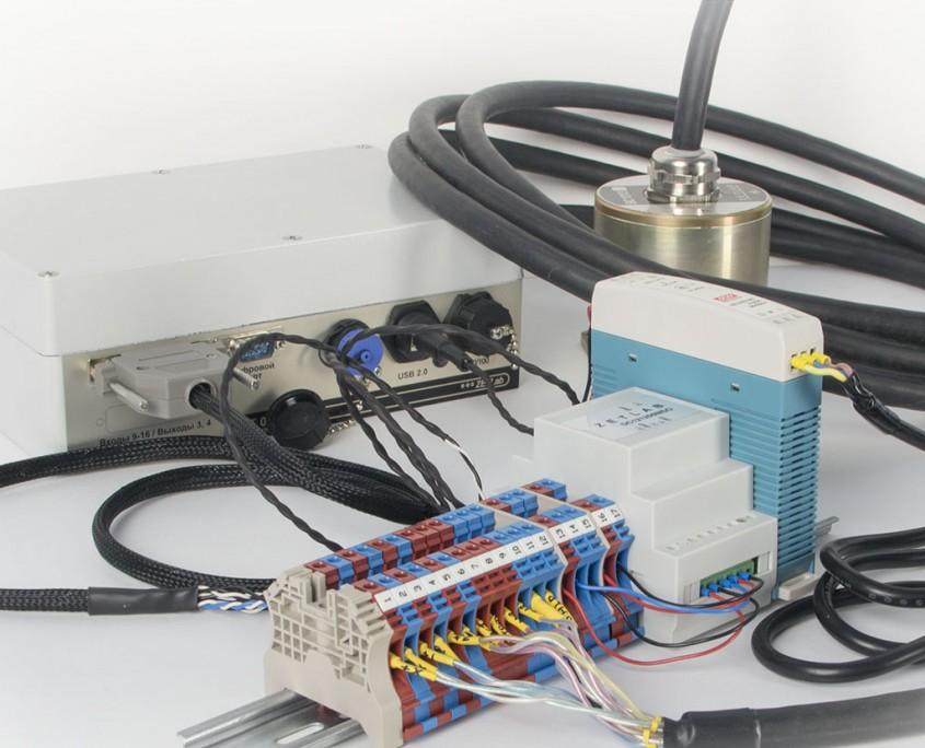 Специализированны комплект для подключения датчиков к регистраторам в шкафах ПРА