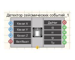 Детектор сейсмических событий